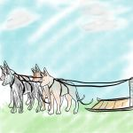 Here is your chihuahua sled by TipsyBard