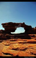 Kalbarri Rock Window by Rems84