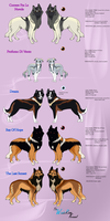 Kennel dogs_Simple sheet 3 by Aquene-lupetta