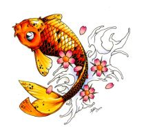 Traditional Koi by DanielRound