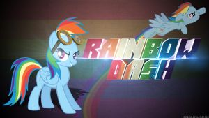 Rainbow Dash Wallpaper by Dropgasm