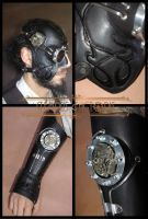 Mask and Vambrace by Tempus-factoris