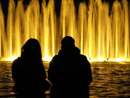 Nuit Blanche - The Fountain by Stirk-Bostaurus