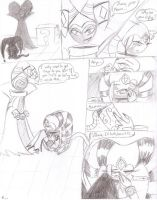 MiDNiGHTS and Jackle Comic by LordBlumiere