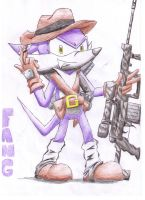 Fang The Second Gunman by Dogwhitesector
