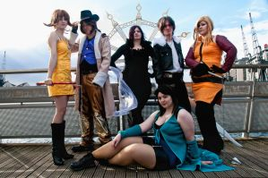 FF VIII Group Shot by Foxseye