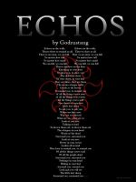 Echos Poster by Coleslayer