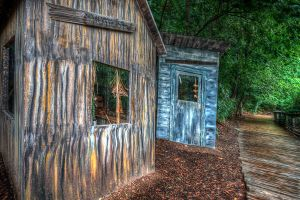 HDR Little Houses by braxtonds