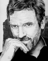 Hugh Laurie 2 by X-Enlee-X