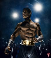 MK Legacy Johnny Cage by Esau13