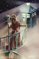Doctor Who - He lives on a cloud by sillynumber