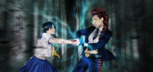 Sakura vs Crimson Viper by LordliCosplay