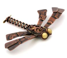 Steampunk Dragonfly II by Lostwaxoz