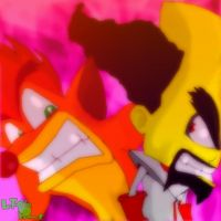 Crash And Cortex by LeTourbillonEnchanT