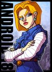 Android 18 by JoeHoganArt