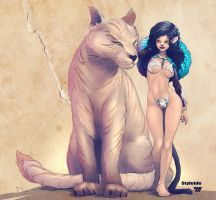 Fauve and Felindro by nahp75