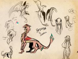 DP: Bristoea Sketches by Dream-Piper