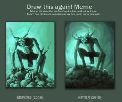 Draw it Again (Collector of skulls) by Machay