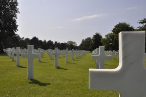 Colleville Cemetery 14 by Cpl-Highway