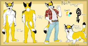 Nick corgi ref by AeroSocks