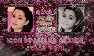 +Ariana Grande Icon #001. by StrongHeartEditions