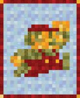 Super (Quilty) Mario by cow41087