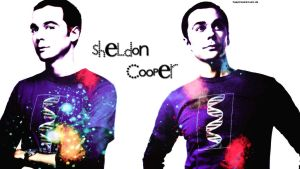 Sheldon cooper wallpaper 3 by HappinessIsMusic