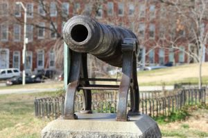 Cannons at Patterson Park by DarkPhoenix36