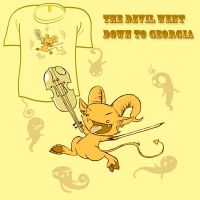 Woot Shirt - Devil Went Down by fablefire