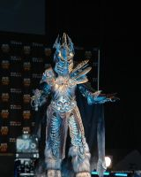 The Lich King on stage by ArcaneArchery
