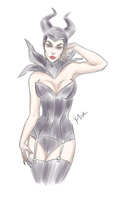 Maleficent by Diskort