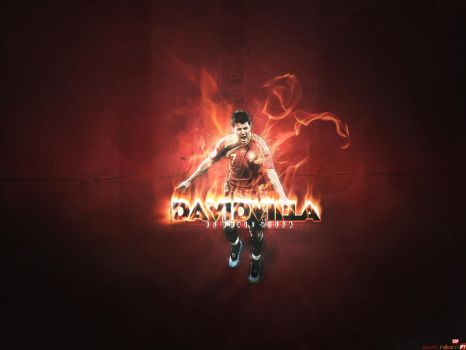 David Villa Wallpaper by FuTboleroArTs