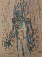 Lord Atomicus: The Half Life King concept sketch by TheRavensBastard39