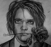 Gerard Way vampiro by mcr1995