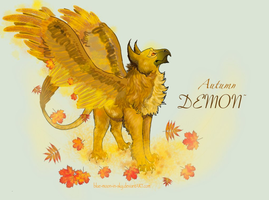 Autumn Demon by Yuriko-ChildofLily