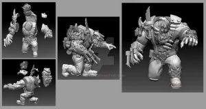 Zbrush Models 03 by SuiCom