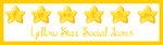 Yellow Star Social Icons by Odyrah