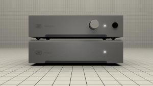 Schiit Audio Magni/Modi Amp and DAC Stack Front by polygonbronson