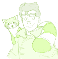 Bolin sketch by pai-draws