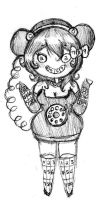 Telephone Dress Sketch by Ask-PrinceBoutique