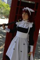 That Maid, On the Lookout by cosplaybeat