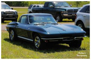 A Bad Black 1966 Corvette by TheMan268