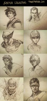 Sketch Collection! by DaveRapoza