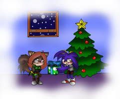 Secret Santa .:rosegirl27:. by GamistTH