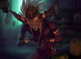 Witch Doctor by ScaringTimeAway