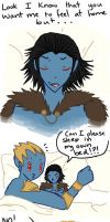 way over protective daddy laufey by SeniorPotato