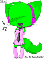 Neon As A Vocaloid by Japanzii