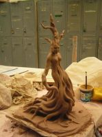 Dryad - In progress by Neridrya