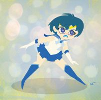 Sailor Mercury Wow Wow by zoemoss