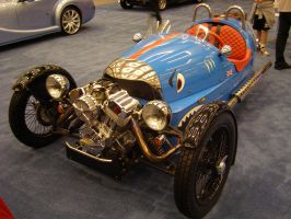 Morgan Three Wheeler by Jetster1